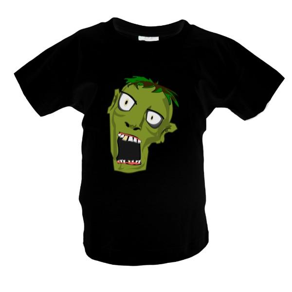 abdbe7e7102 Tričko s potiskem Tričko Zombie dětské