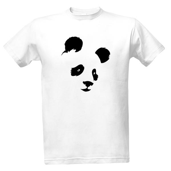0f89235b4e2 Tričko s potiskem Pánské triko Panda