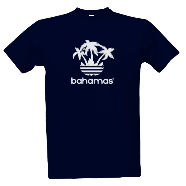 8ccf48f0e186 Tričko s potlačou Značkové Bahamas - Pánské
