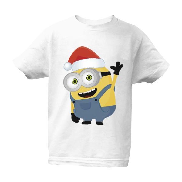 Tričko s potiskem Vánoční mimoň  0b08dea9f2