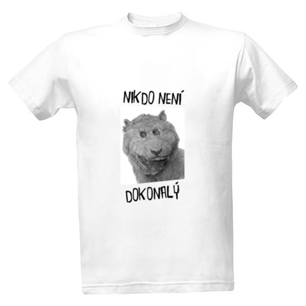 Tričko s potiskem Nikdo není dokonalý  70841285a5