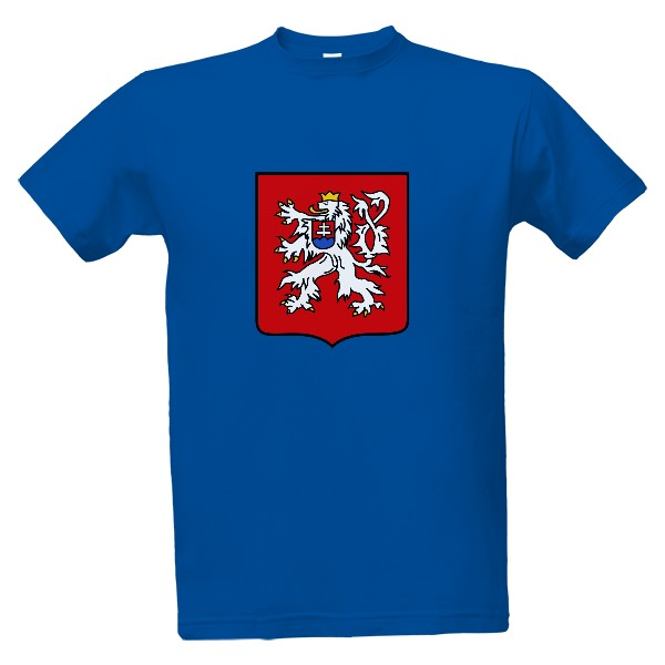 babe2e420a1 Tričko s potiskem ČS lev 2 - pánské