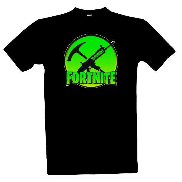 Tričko s potiskem Fortnite Battle Royale 99 problems  3ce926e2446