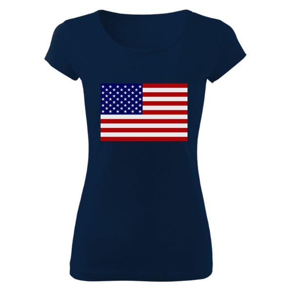 Tričko s potiskem U.S.A.  000fe1ccef