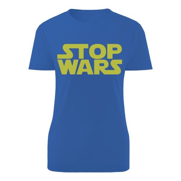 Tričko s potiskem Stop Wars v originálním designu Star Wars  f639b6bc3d