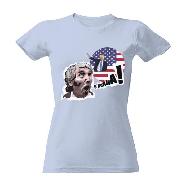 Tričko s potiskem stachu jones v USA - dámské  591910db43
