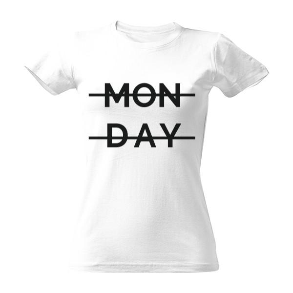 bd532b7b966c Tričko s potlačou Monday - Pondělí