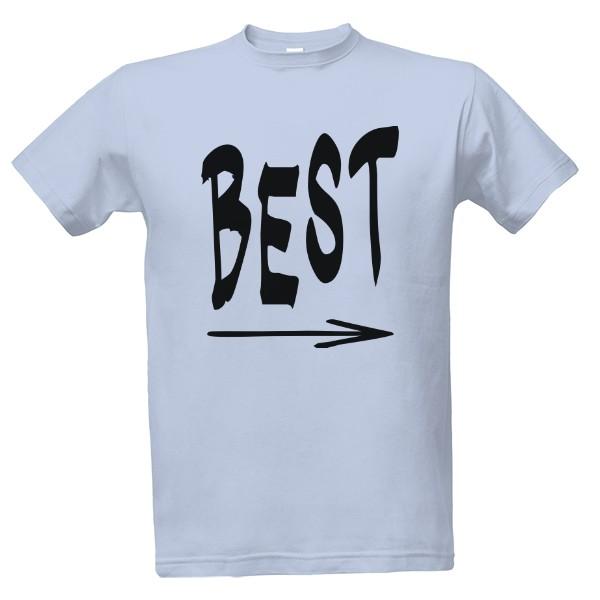 Tričko s potiskem best friend  41ab2ecdbe