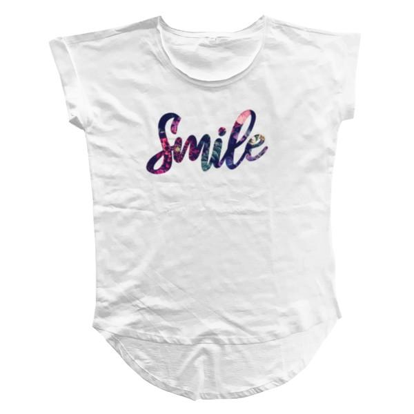 Tričko s potiskem Smile dámské tričko  eb666bd255