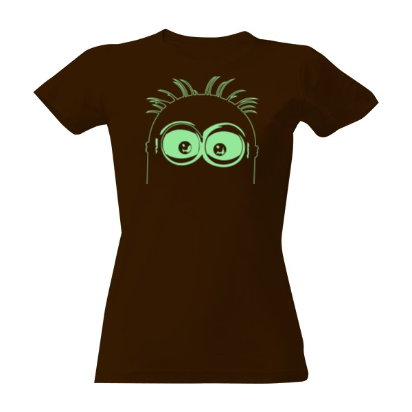 9572d75c13c2 Tričko s potiskem Mimoň zelená
