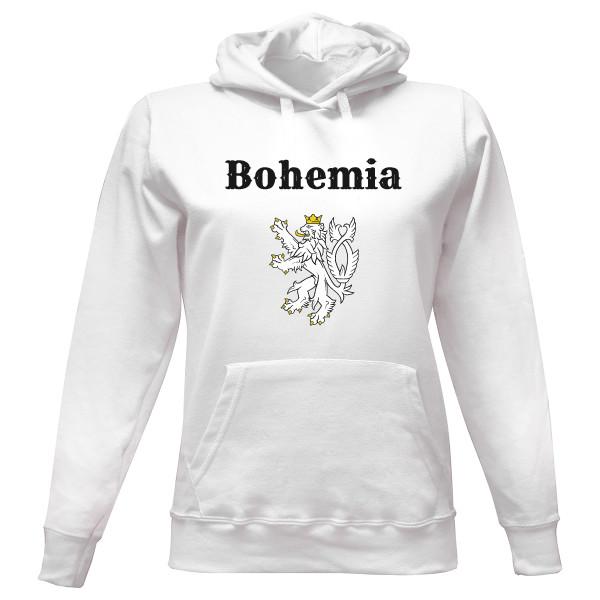 Dámská mikina s kapucí s potiskem Mikina Bohemia se lvem  db5a8b17860