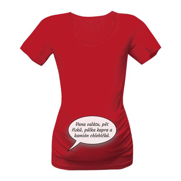 25fed7a8a56e Tričko s potiskem Vánoční následky