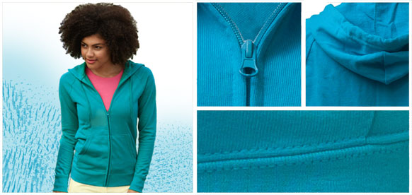 Ladies' zip sweatshirt SALE