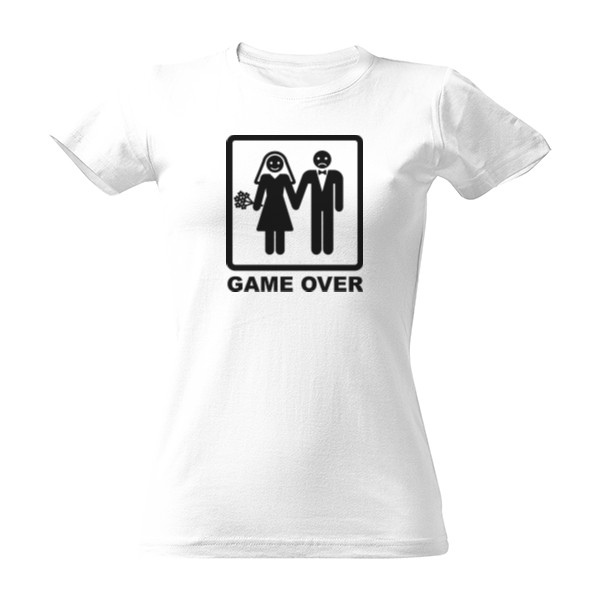 GAME OVER women black