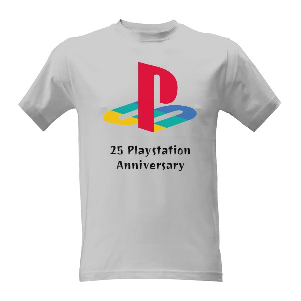 25 Playstation Anniversary T-shirt