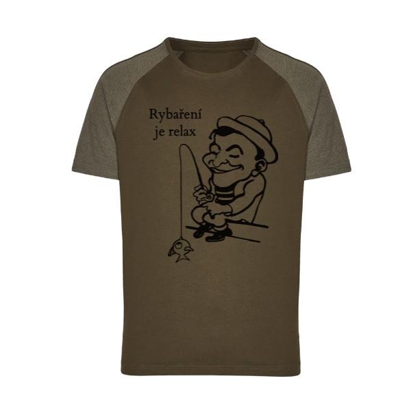 tričko s potiskem Rybář pánské