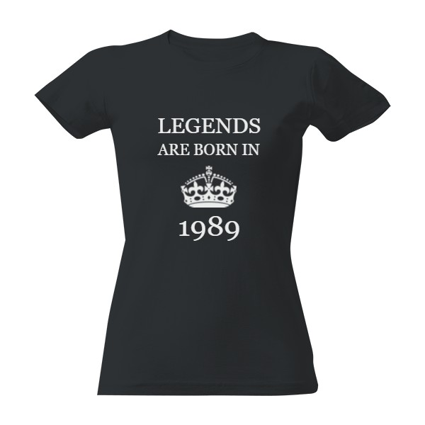 Legends are born in..