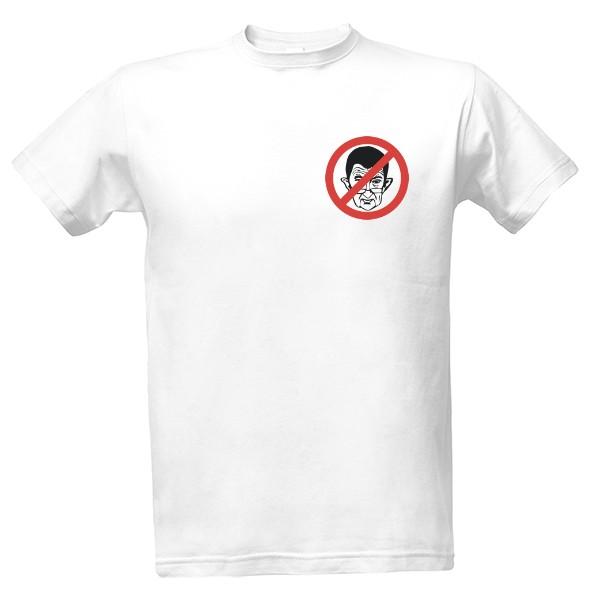 Tričko s potiskem BORN IN THE ČSSR  9139e849bb