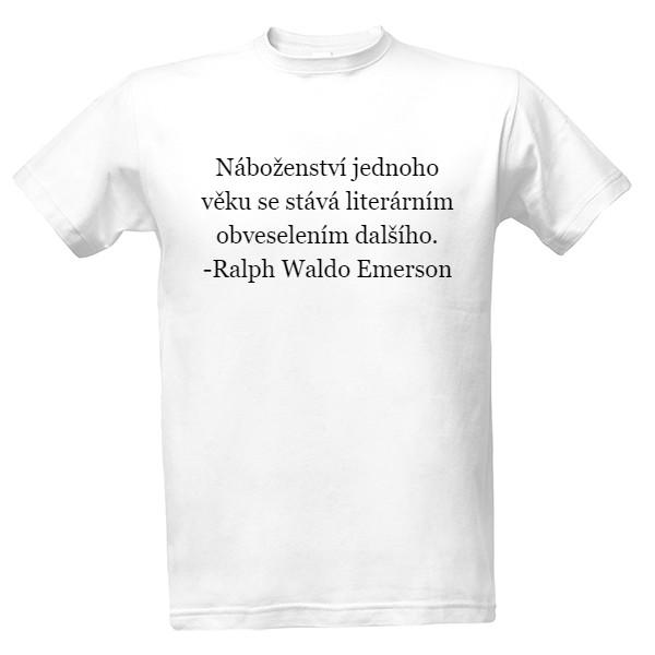88be83ba559 Tričko s potiskem Pánské tričko s citátem (2)