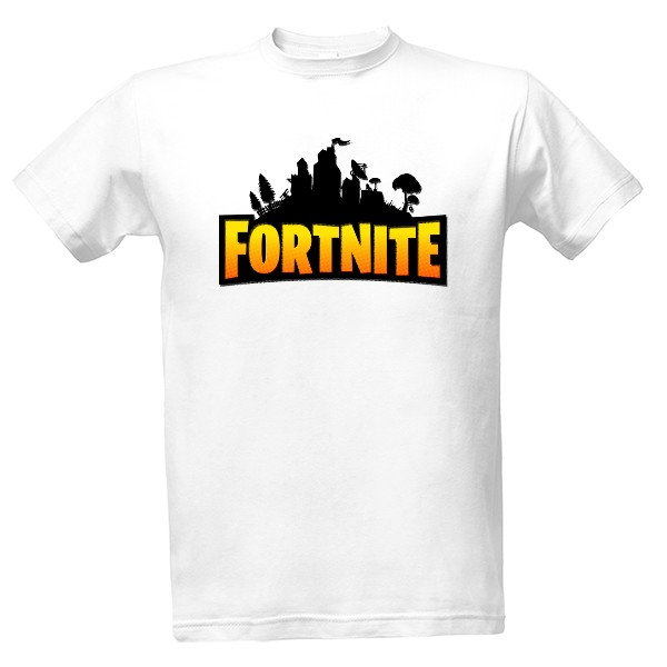 Tričko s potlačou Fortnite Battle Royale