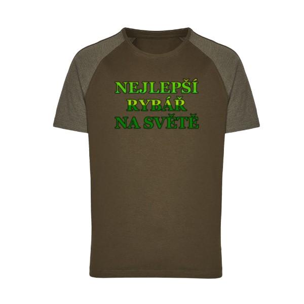 4e9382b8d7e Tričko s potiskem Nejlepší rybář na světě