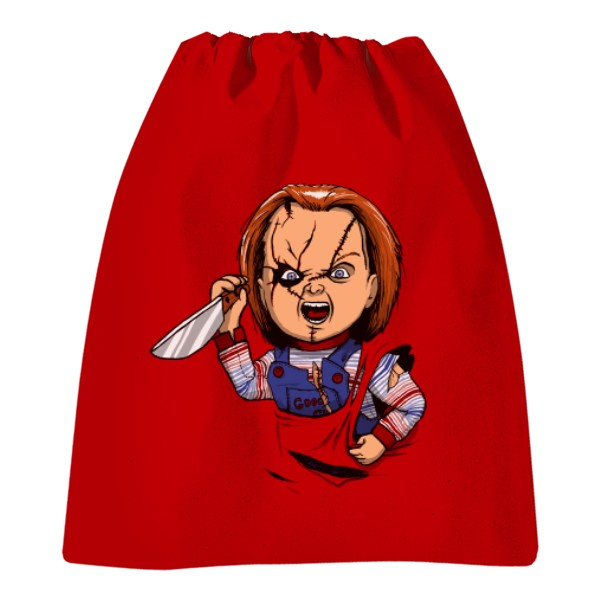 a2540463fbee Vak na chrbát s potlačou Chucky