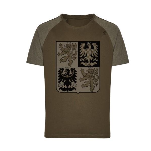 Tričko s potiskem Český znak 6d3a30331b