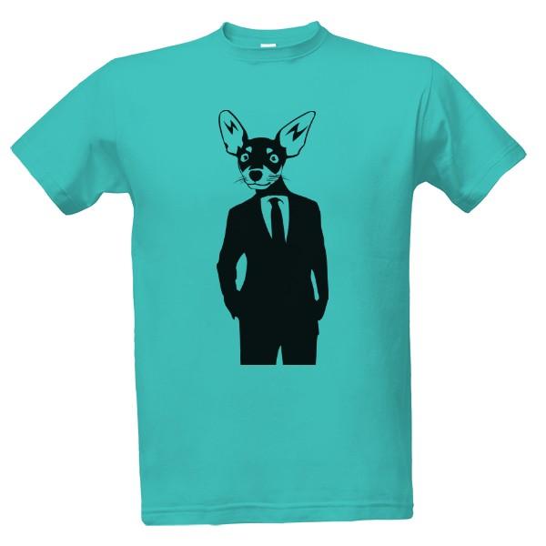 Tričko s potlačou Čivava  95ace26145