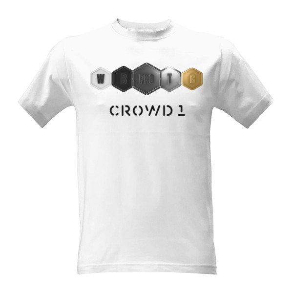 Crowd1 Packages 5 T-shirt
