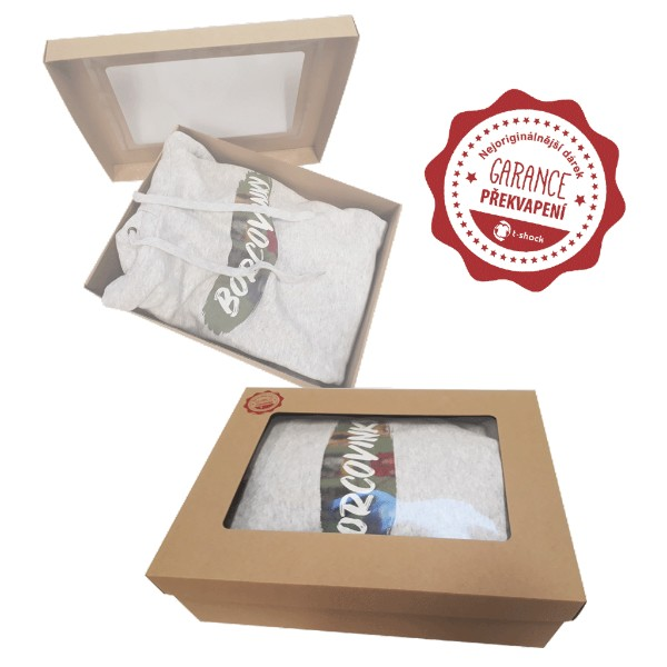 Gift box for sweatshirt