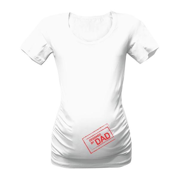 Tričko s potiskem Designed by DAD dc8fb788c5