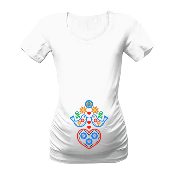 Tričko s potiskem Dítě folkloru 42e5446996