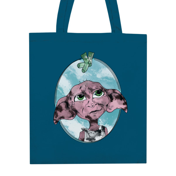 Cotton Shopping Bag s potiskem Goblin Dobby