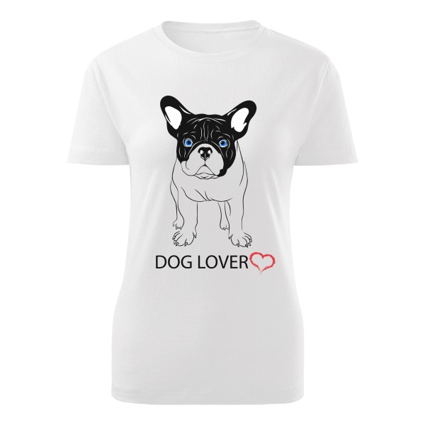 Tričko s potlačou Dog lover  1b804bc3392