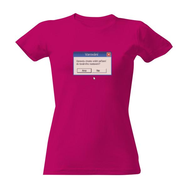 Tričko s potiskem Novinářská kachna - dámské  50bffa163e