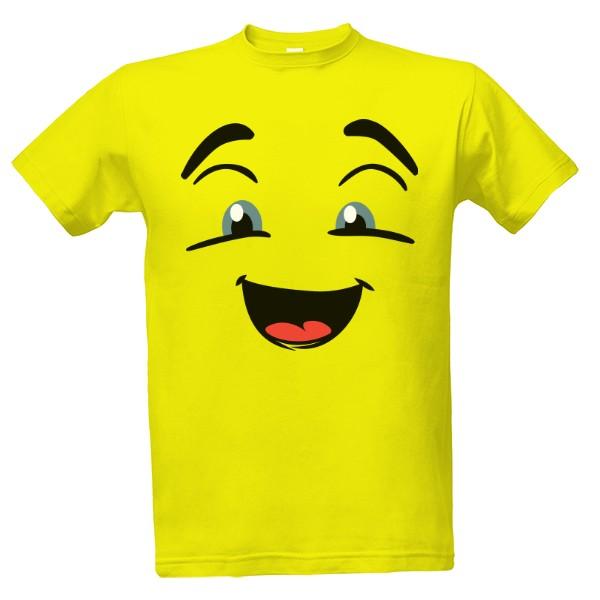 -27% · Tričko s potiskem Emoji nadšený obličej 42720e0d1f