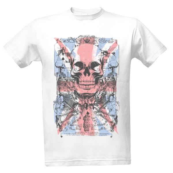 tričko s potiskem England pánské