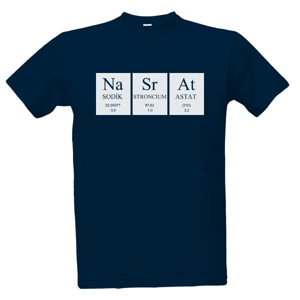 Tričko s potiskem NaSrAt  a733437326