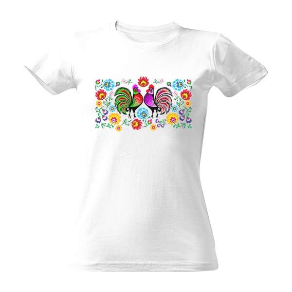 7f385722f7a -11% · Tričko s potiskem Folklór na tričku