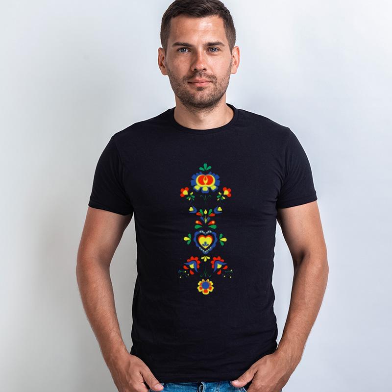 15b476ceb46 Tričko s potiskem Folklórní motiv