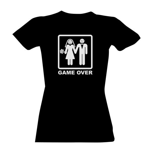GAME OVER for women T-shirt
