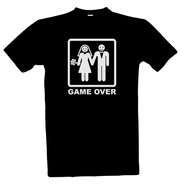 GAME OVER for men T-shirt