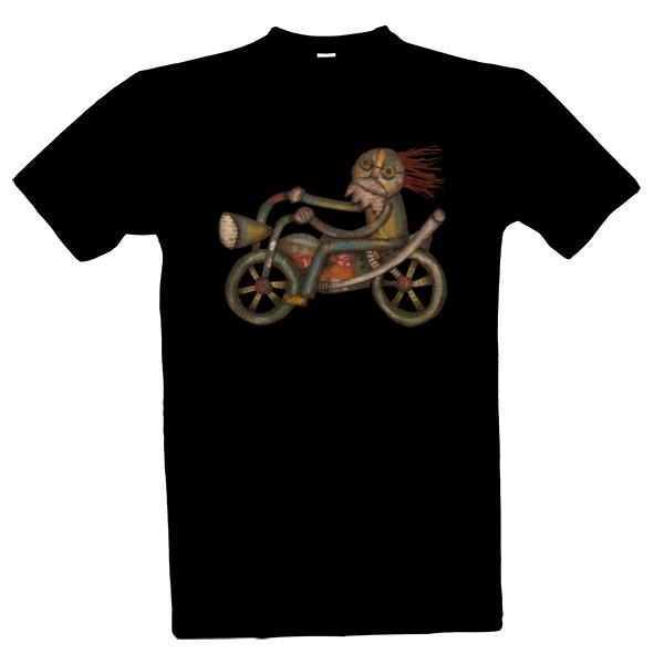 Tričko s potiskem Můj Harley 0768e9bd83