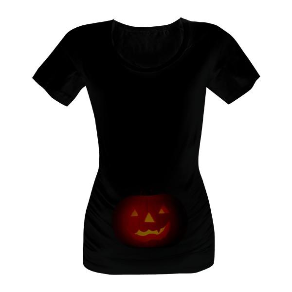 46d878bb097d Tričko s potlačou Halloween pro těhotné