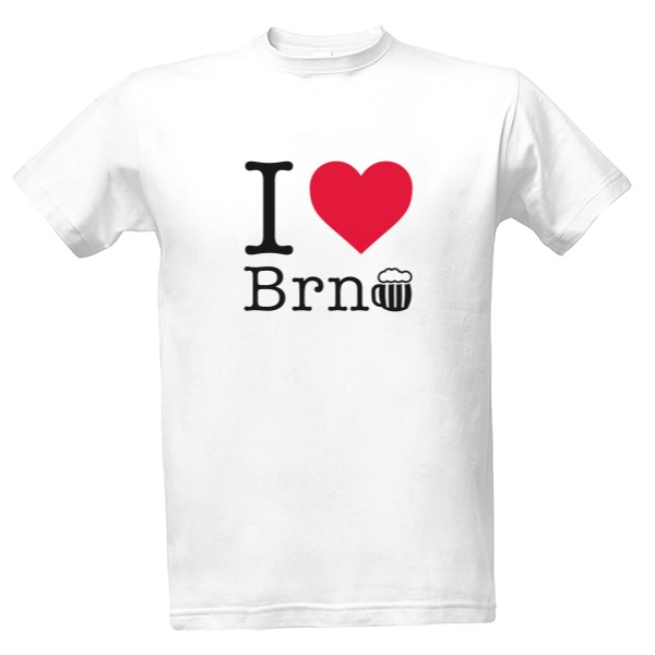 I LOVE BRNO beer T-shirt