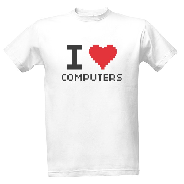 I love computers T-shirt