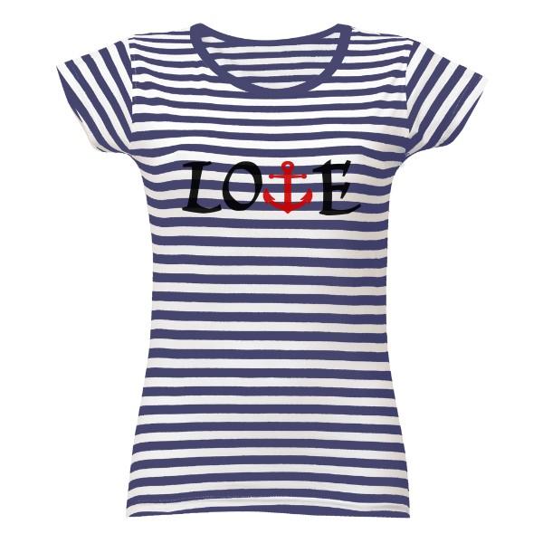221c3f0639e Tričko s potiskem námořní láska