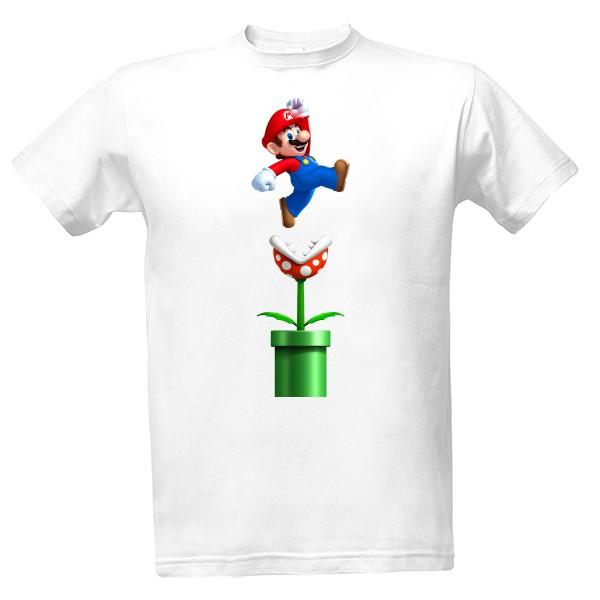 eeafbf6fe787 Tričko s potlačou Pánské triko Mario Bros