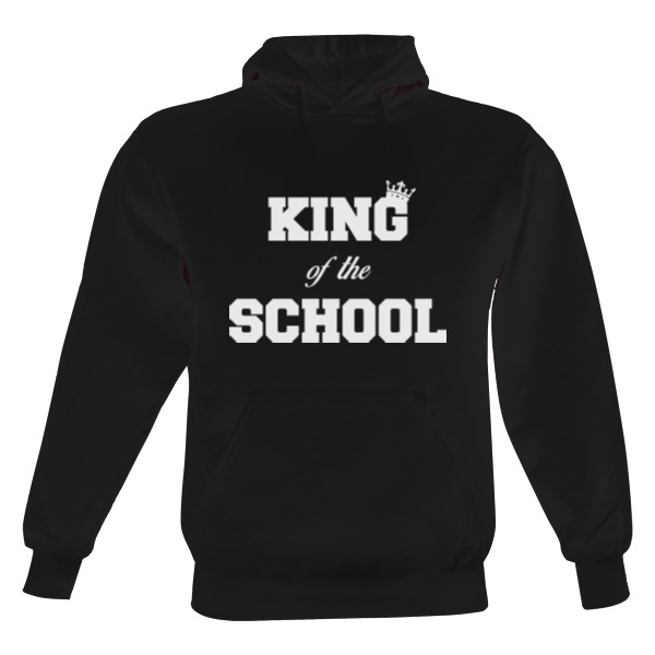 King of the School - bílý