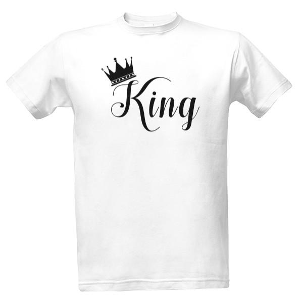 Tričko s potiskem King 69d7c9ce04